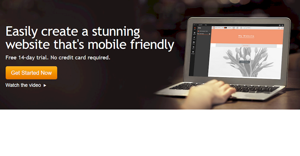 Easily create a stunning website that's mobile friendly
